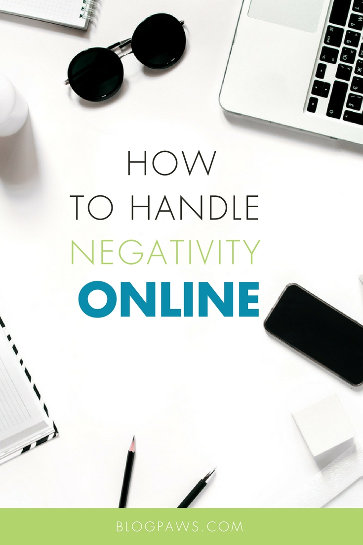 How to HANDLE NEGATIVITY