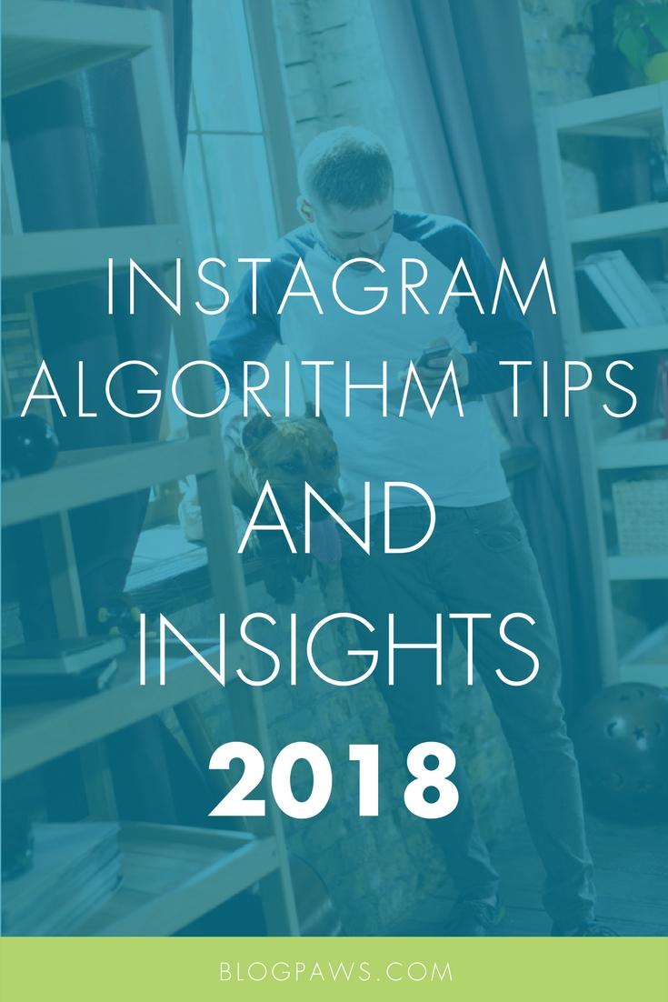 Instagram tips algorithm