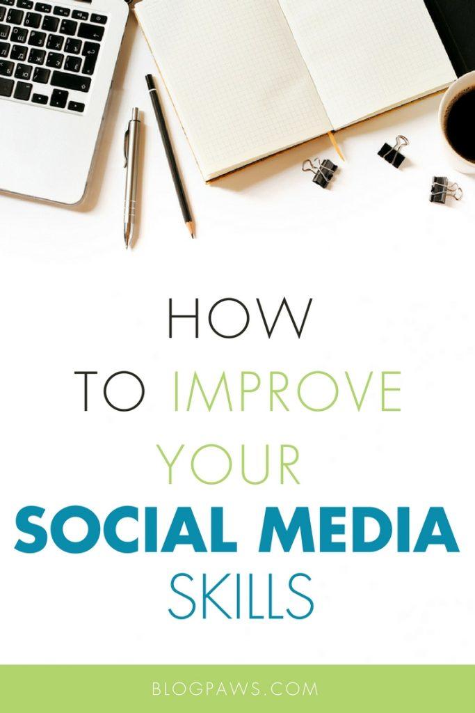 social media skills improvement