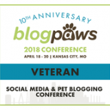 I'm a BlogPaws Conference Veteran! Come See Why!