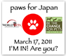 Paws For Japan - Help World Vets help people and pets in Japan