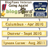 BlogPaws 3 time AND going to SLC