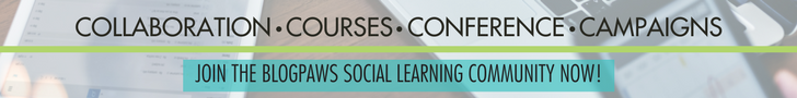 Join the Blogpaws Social Learning Community