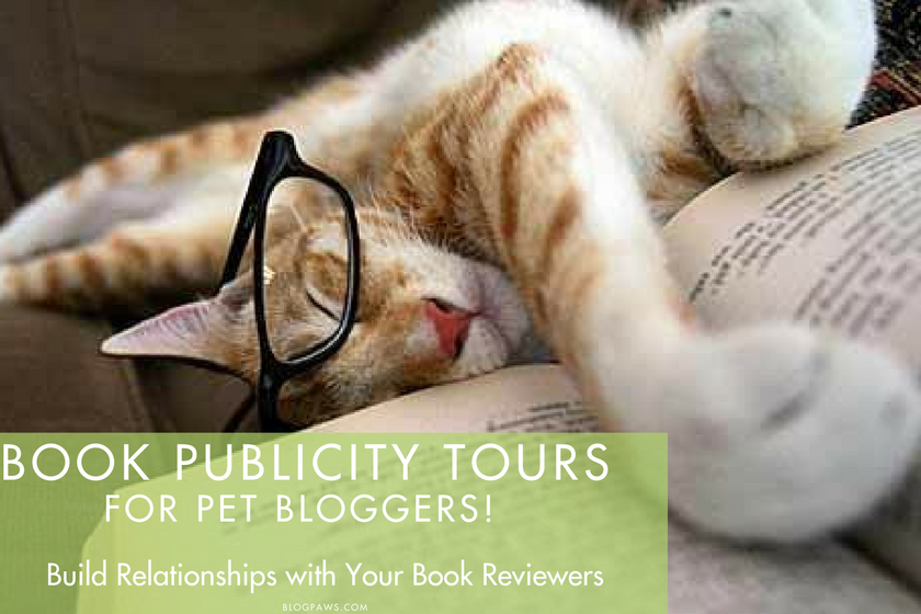 the virtual book tour for pet bloggers