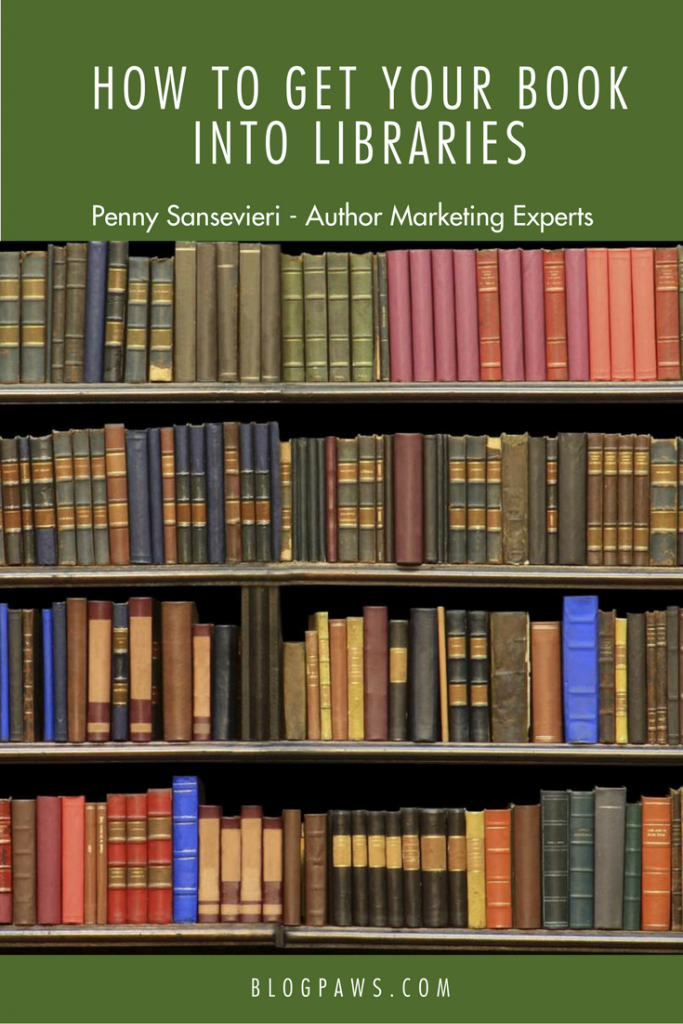 Penny Sansevieri talks about how to get your book into libraries at BlogPaws