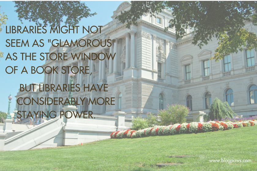 Getting Your Book Into a Library Not Glamorous But More Staying Power