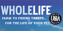 Thanks to our BlogPaws Sponsor Whole Life Pet - Farm to Friend Treats ... For the Life of Your Pet