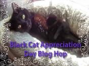 Black Cat Appreciation Day Badge