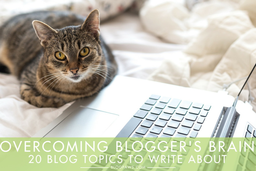Overcoming Blogger's Brain