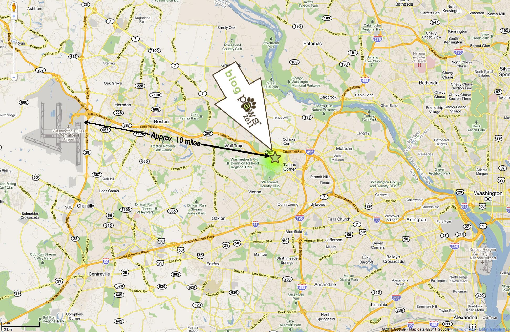 BlogPaws2011-Map
