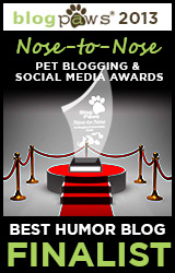 BlogPaws 2012 Nose-to-Nose Pet Blogging and Social Media Awards - Finalist: Best Humor Blog