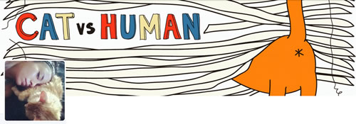 Cat Vs Human - @yasmine_surovec Twitter Header