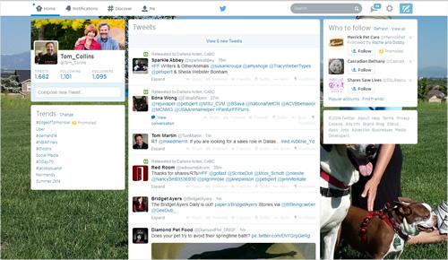 Twitter background image - Tom Home - June 2014
