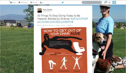 Twitter background image - Tom single tweet - June 2014