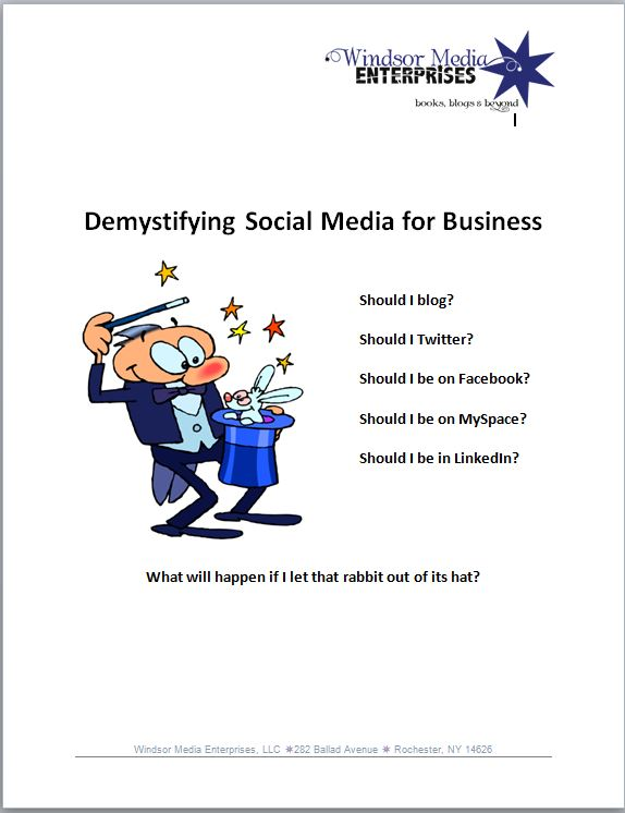 Demystifying Social Media 4 Business-cover