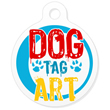 Dog Tag Art - Create your own custom dog tags or view all artist-designed pet id tags