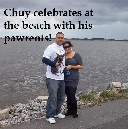 chuy at beach