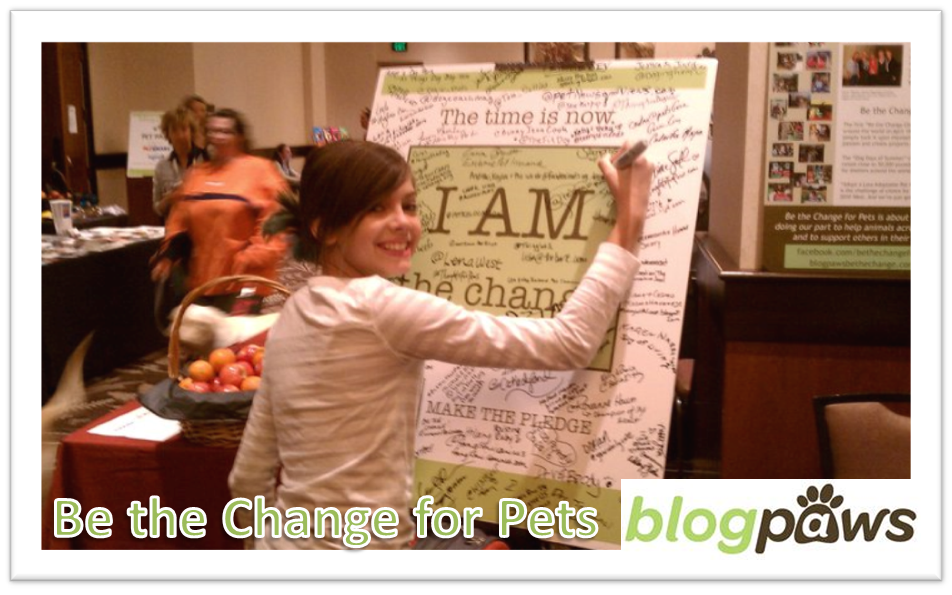 Miah Says Be the Change for Pets is all you need to be