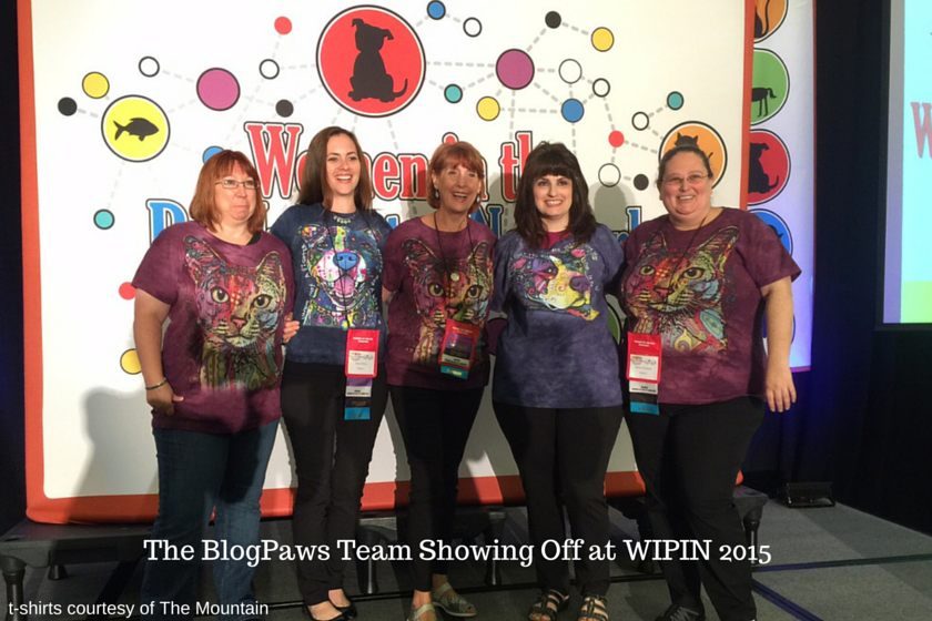 BlogPaws Team at Women in the Pet Industry 2015