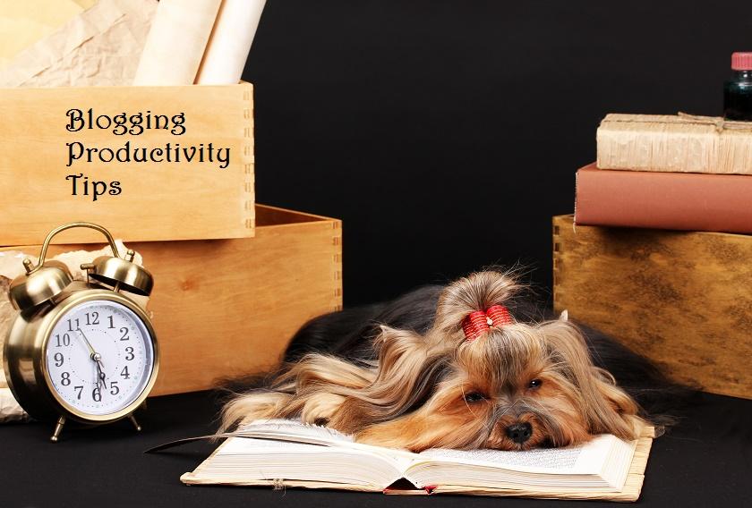 blogging productivity tips