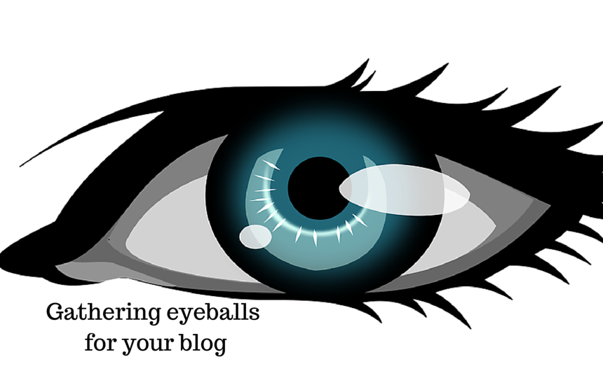 Gathering eyeballs for your blog