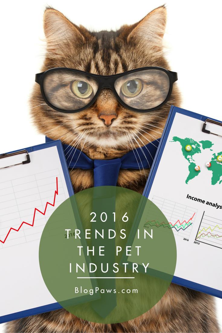 2016 Pet Industry Trends