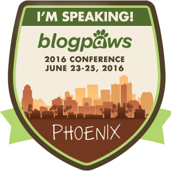 I'm Speaking at BlogPaws 2016! Let's meet there!