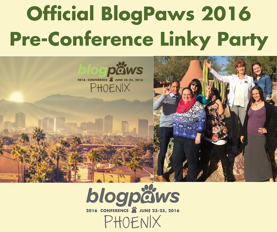 BlogPaws Linky Pre-Conference