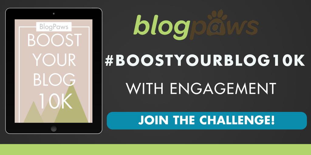 Join the BlogPaws Boost Your Blog 10K Challenge