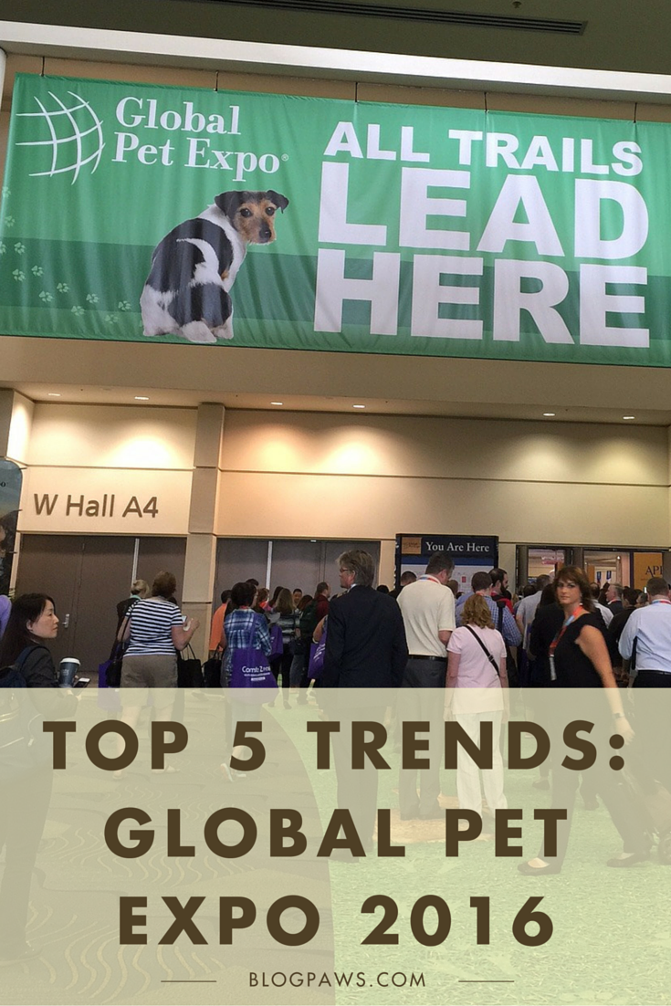Top 5 Trends from Global Pet Expo
