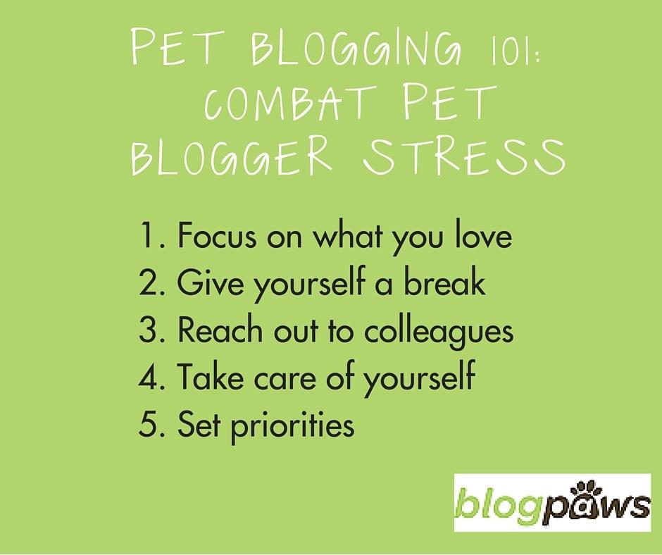 blogger stress