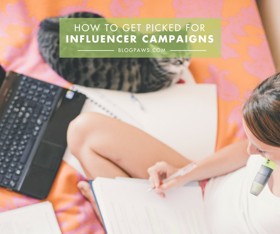How to get picked for influencer campaigns (1)