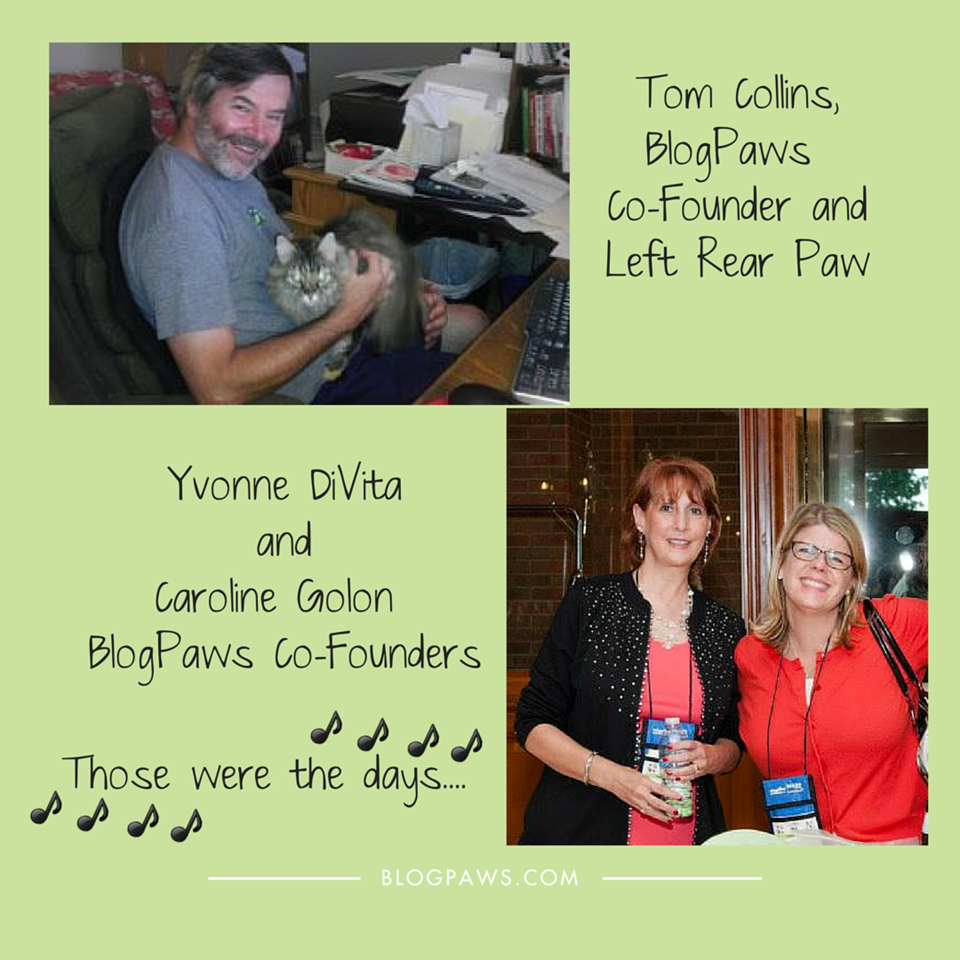 Tom Collins Yvonne DiVita Caroline Golon BlogPaws Co-Founders
