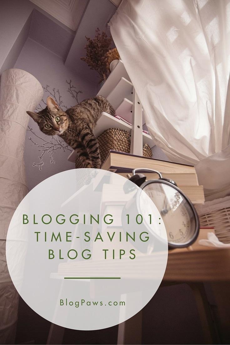 blogging 101 time saving