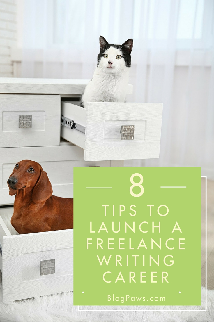 8 TIPS TO LAUNCH A FREELANCE WRITING CAREER