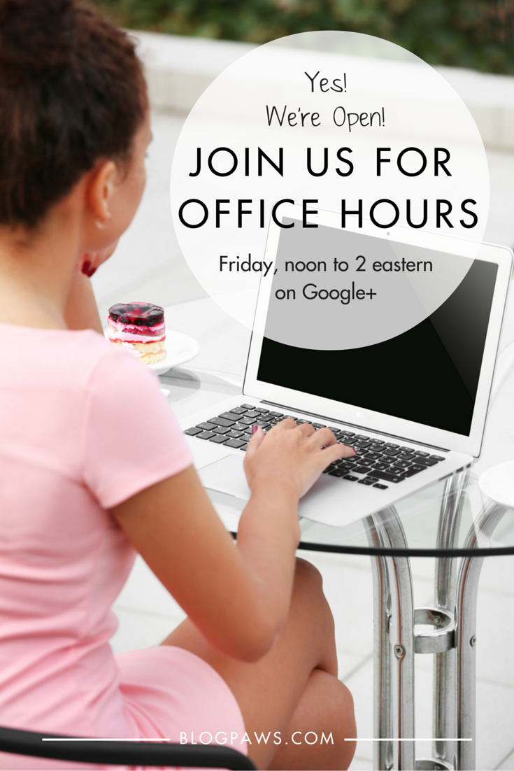 Office Hours Are Open