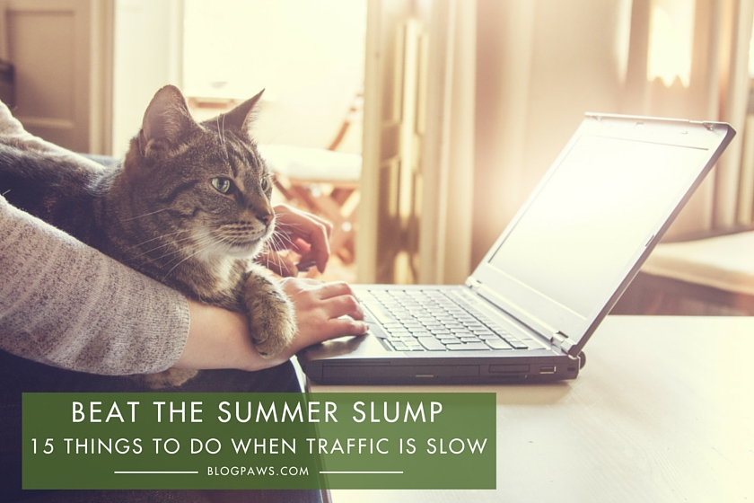 Beat the Summer Blogger Slump- 15 Things to Do When Traffic is Slow