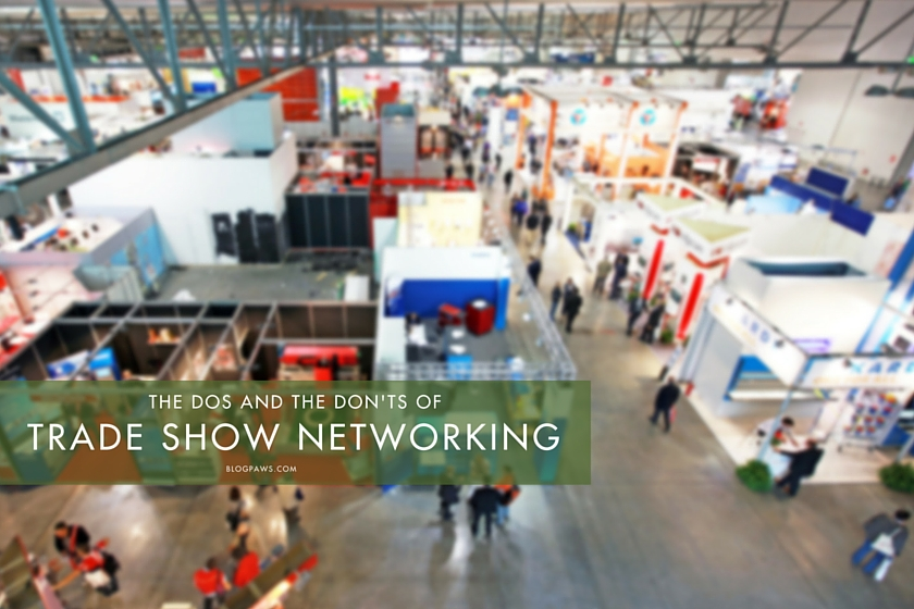 How to Network at a Trade Show