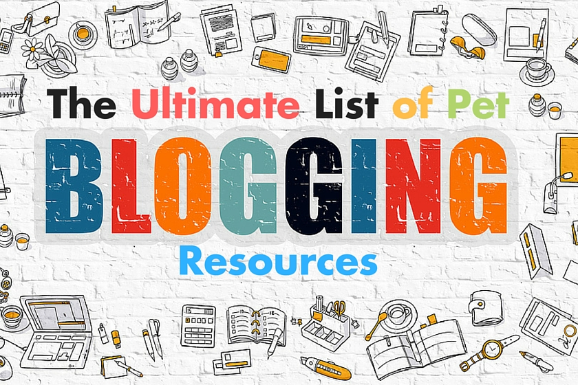 Pet blogging resources