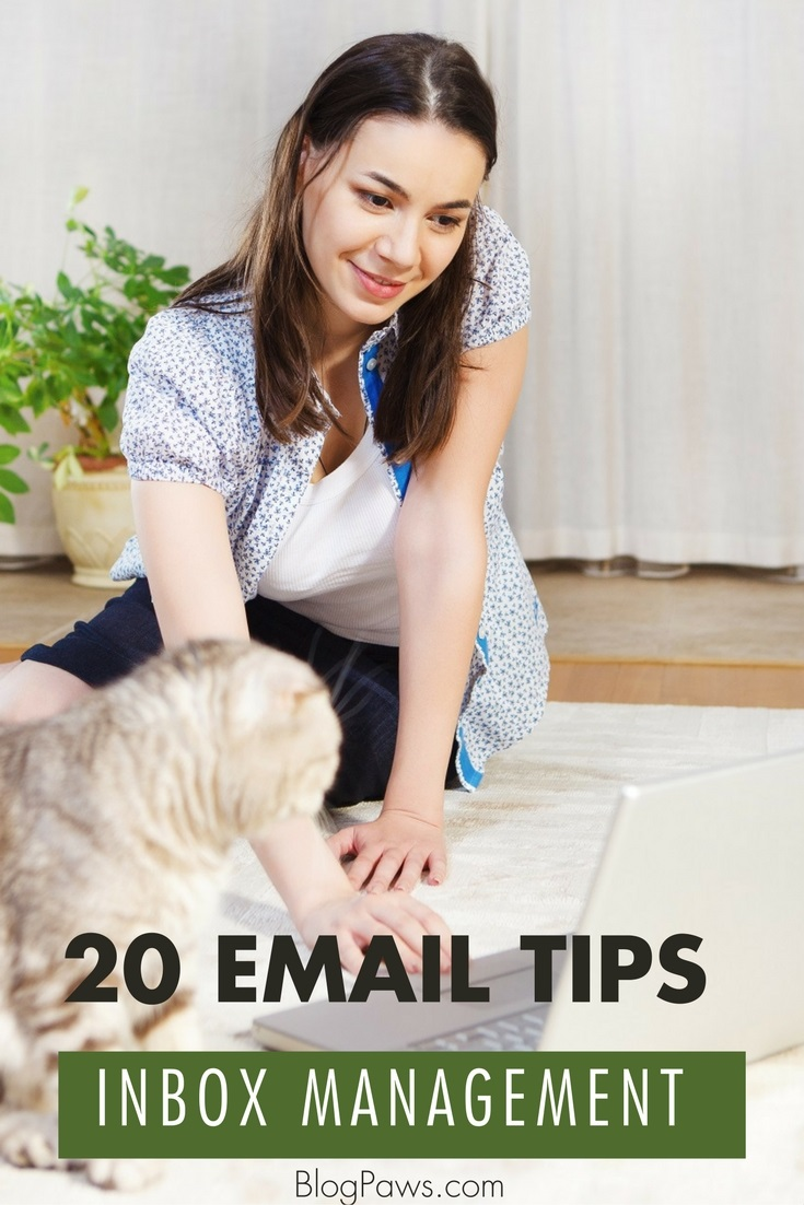 20 tips for better email inbox management