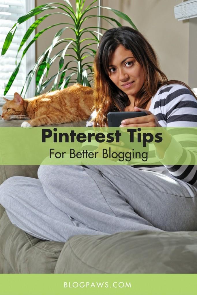 Pinterest tips for better blogging