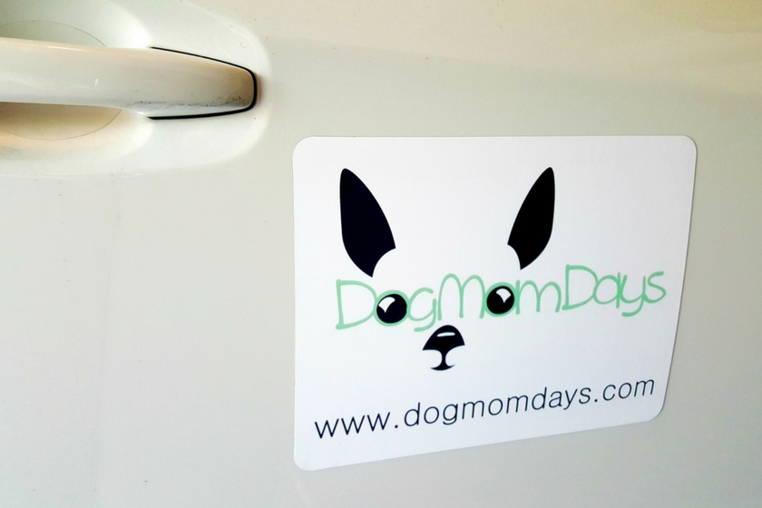 A creative way to advertise your blog is with a branded car magnet