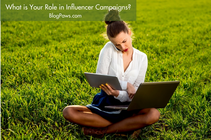 What is your role in influencer campaigns-