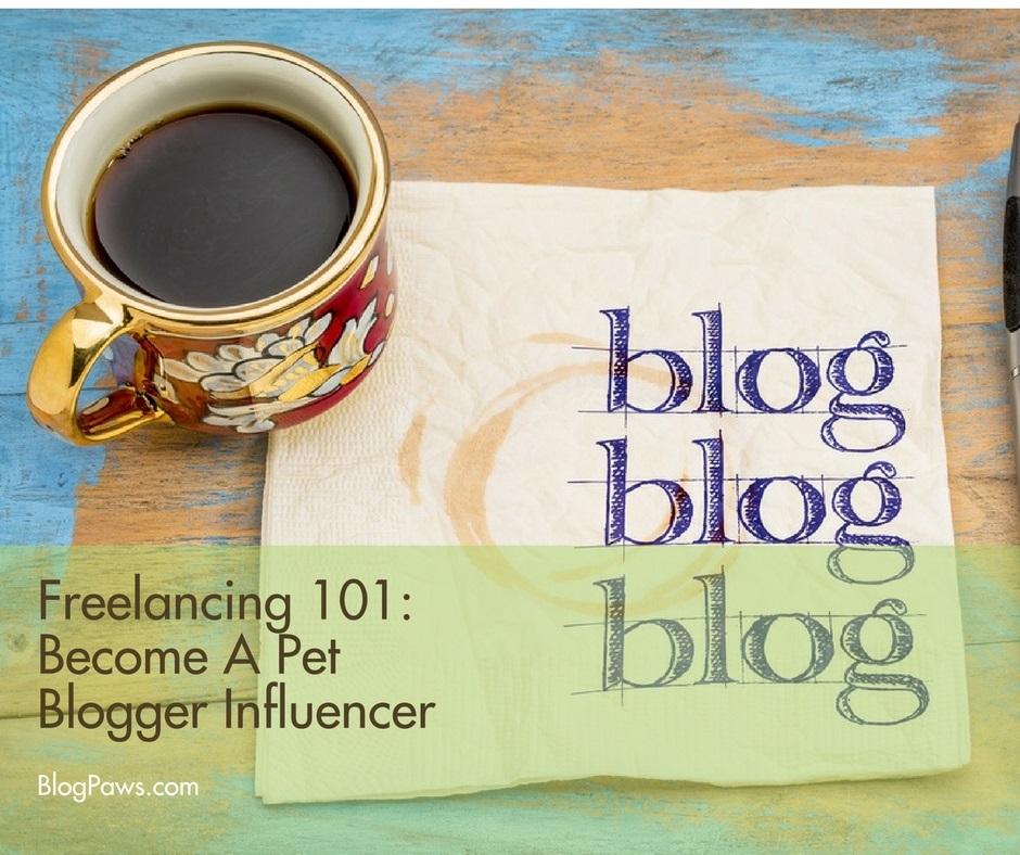how to be a pet blog influencer