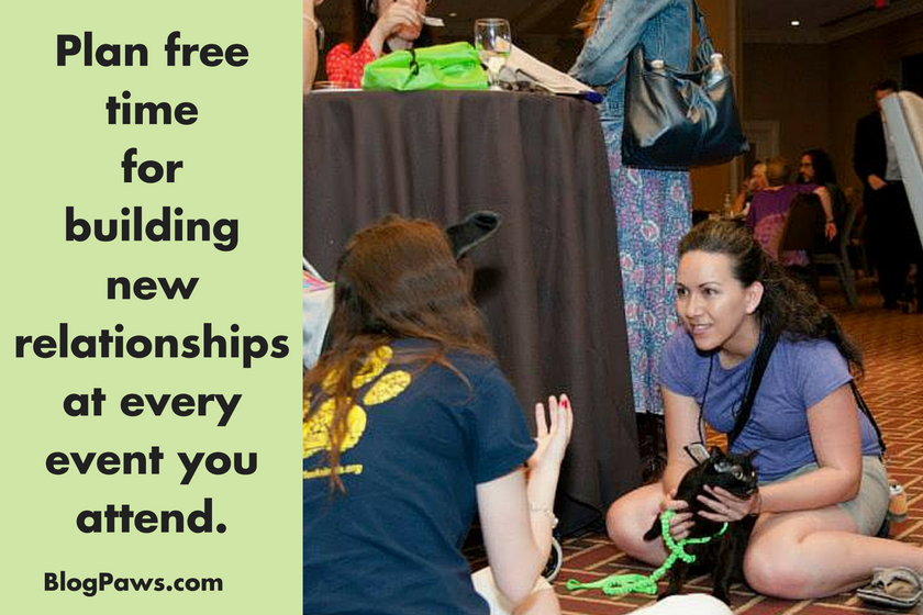 Plan free time to build relationships
