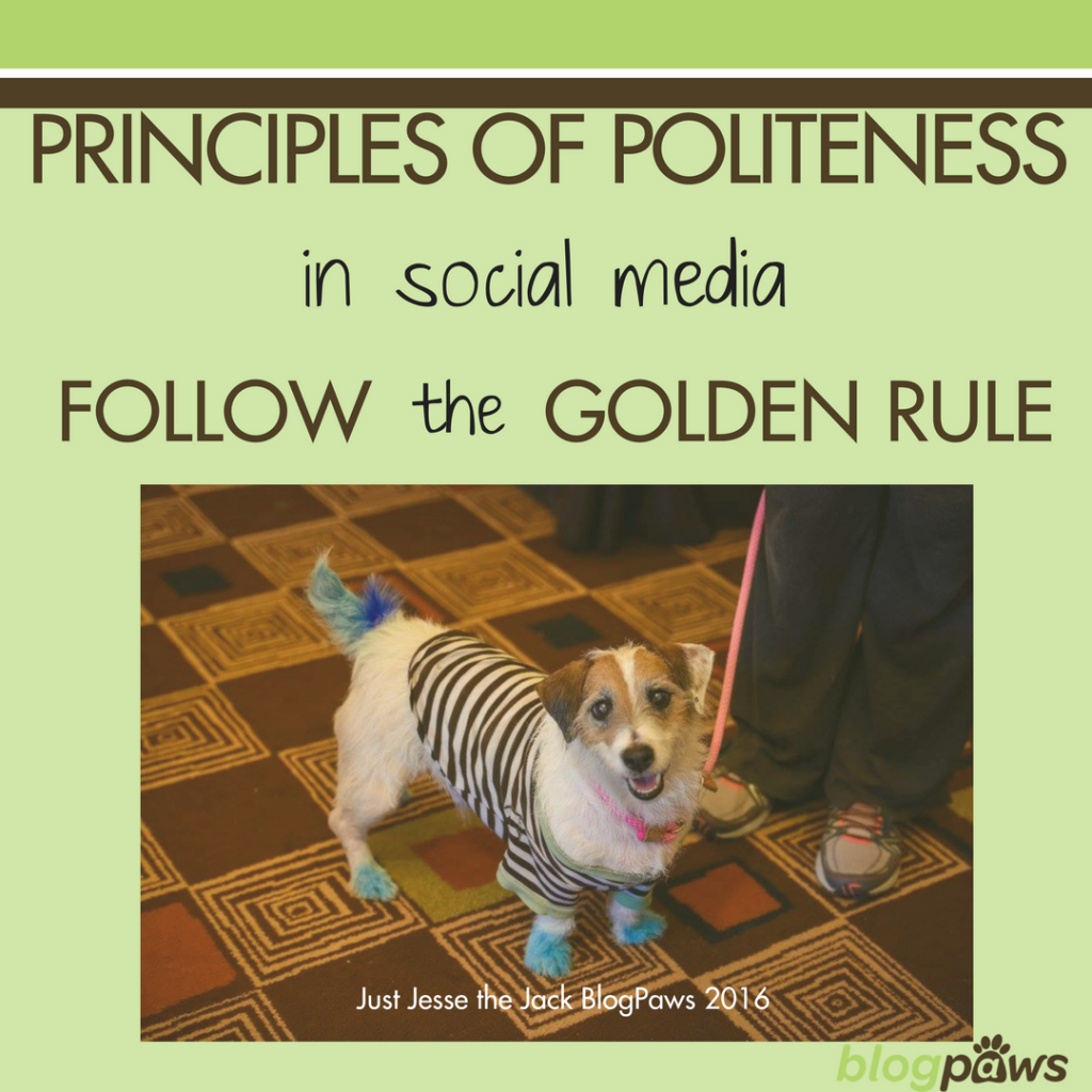 Principles of Politeness in Social Media