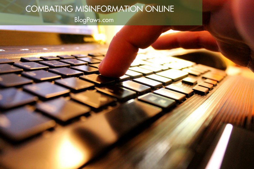 Combating Misinformation Online BlogPaws.com