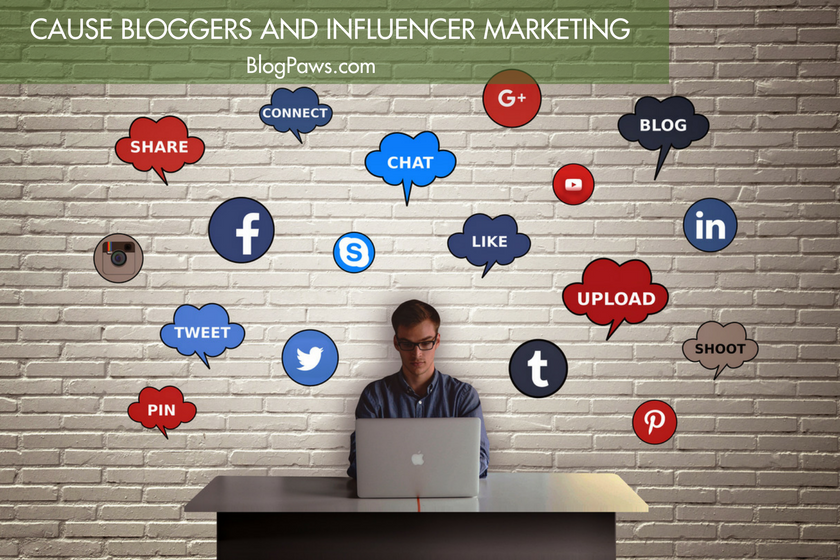 What Cause Bloggers Need to Know About Influencer Marketing | BlogPaws.com