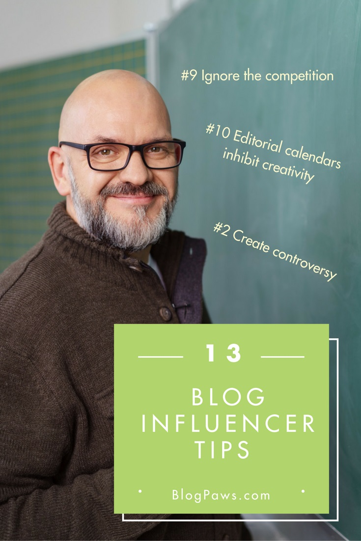 blog tips influencers should ignore