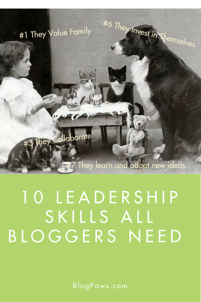 Leadership skills for the blogging professional